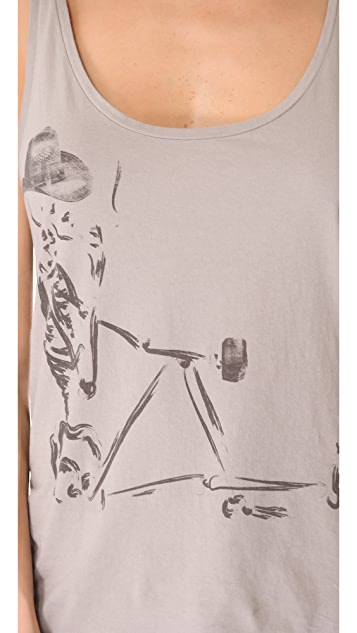 Swildens Isatis S Printed V Neck Tee