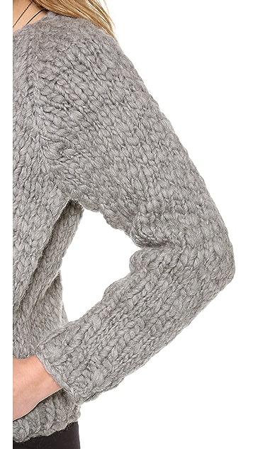 Swildens Jully Chunky Knit Bomber