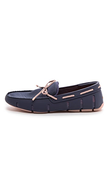 SWIMS Braided & Lace Loafer