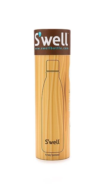 S'well Бутылка для воды Teakwood емкостью 17унций