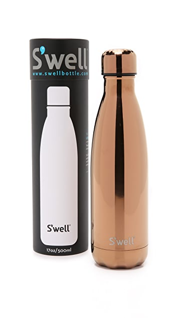 S'well Rose Gold Medium Stainless Steel Bottle