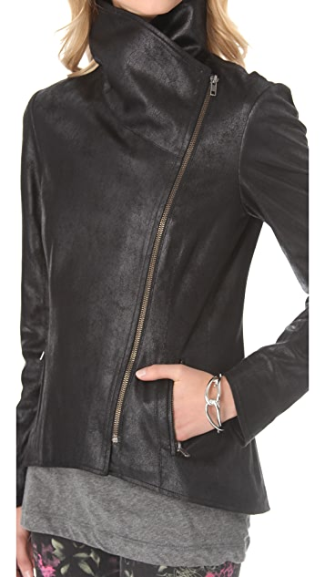 SW3 Bespoke Faux Leather Jacket