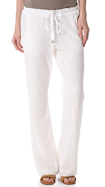 SW3 Bespoke Kent Lace Drawstring Pants