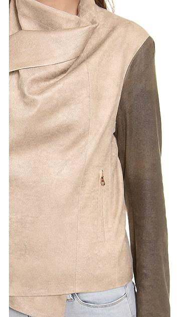 SW3 Bespoke Queensway Faux Leather Jacket