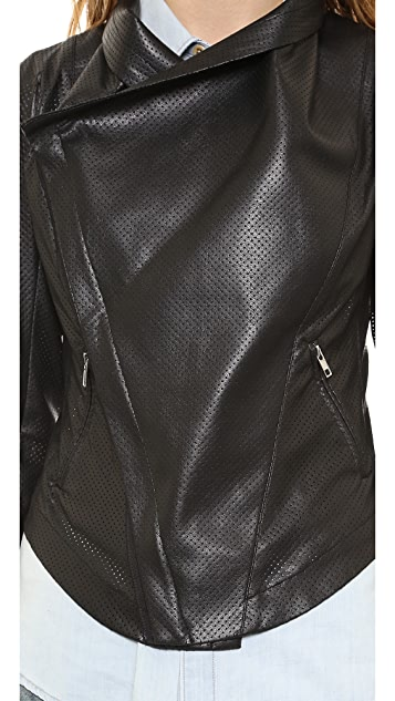 SW3 Bespoke Queensway Faux Leather Jacket