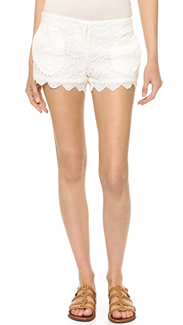SW3 Bespoke Risby Lace Shorts