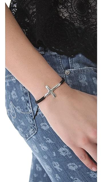 Tai Cross Charm Bracelet