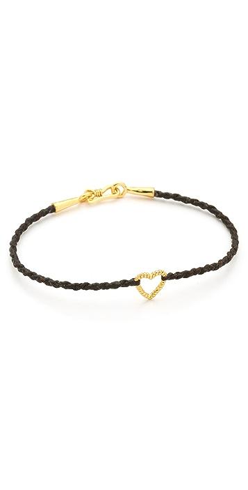 Tai Open Heart Charm Bracelet