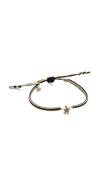 Tai Pave Star Charm Bracelet