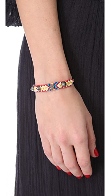 Tai Studded Friendship Bracelet