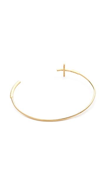 Tai Pave Cross Cuff