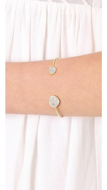 Tai Open Pave Bracelet