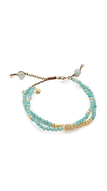 Tai Amazonite Beaded Bracelet