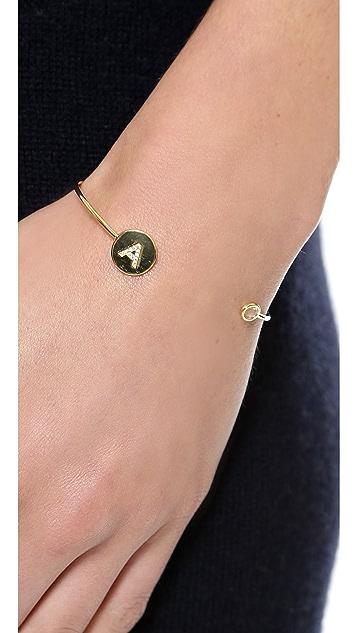 Tai Разомкнутый браслет-манжета Letter