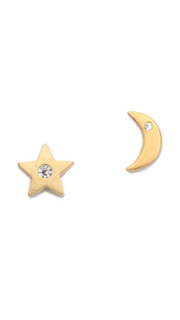 Tai Star & Moon Earrings