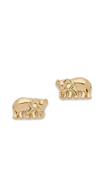 Tai Mini Elephant Earrings