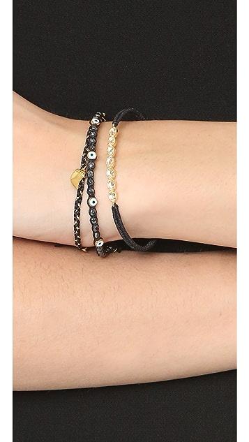 Tai Evil Eye Stacked Bracelets