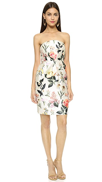 La Maison Talulah Only Love Strapless Dress