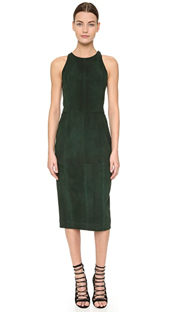 Tamara Mellon Fitted Sheath Dress