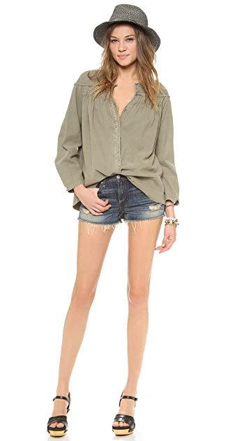 Tambourine Crosby Button Down Shirt
