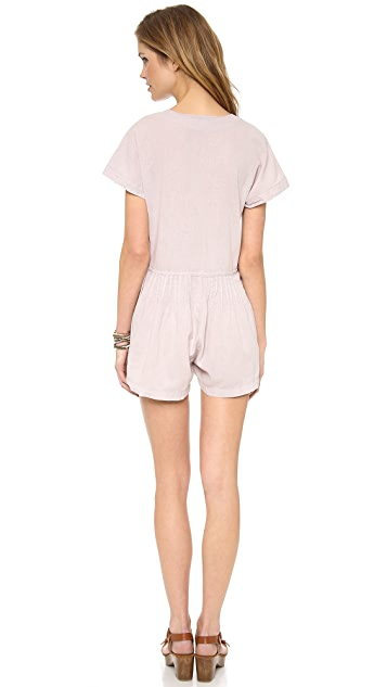Tambourine Hollies Romper