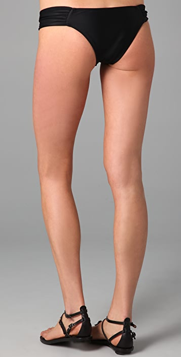Tavik Swimwear Solid Mazatlan Bikini Bottoms