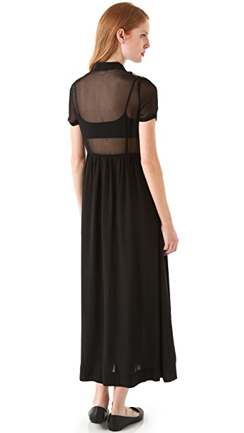 tba (to be adored) Jasmine Maxi Shirtdress