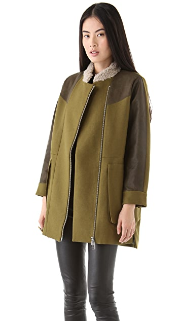 tba (to be adored) Petra Wool Coat