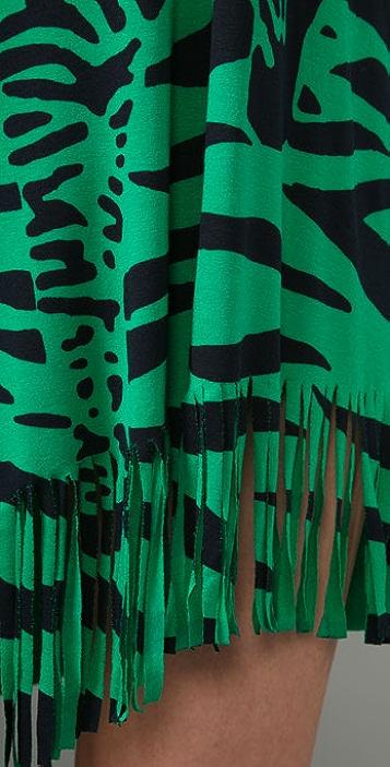 MISA Zebra Fringe Tunic