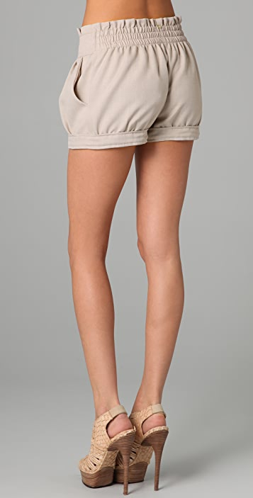 MISA Pleated Shorts