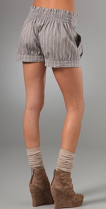 MISA Pleated Shorts