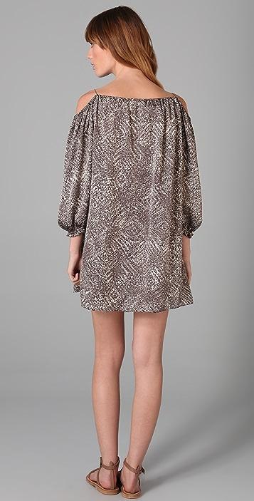 MISA Off Shoulder Mini Dress