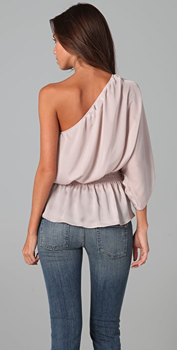 MISA One Shoulder Blouse