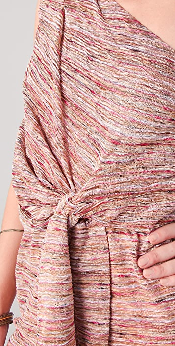 MISA One Shoulder Mini Dress
