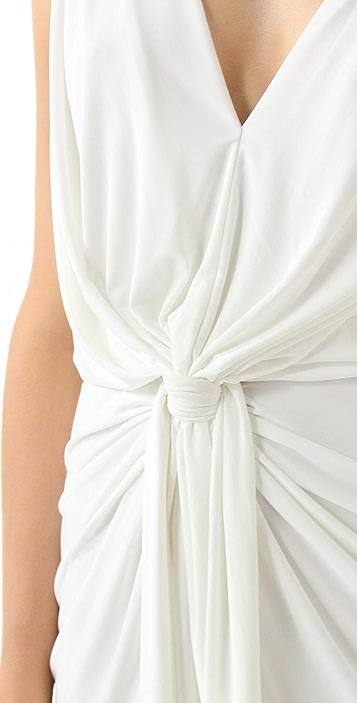MISA Stretch Maxi Dress