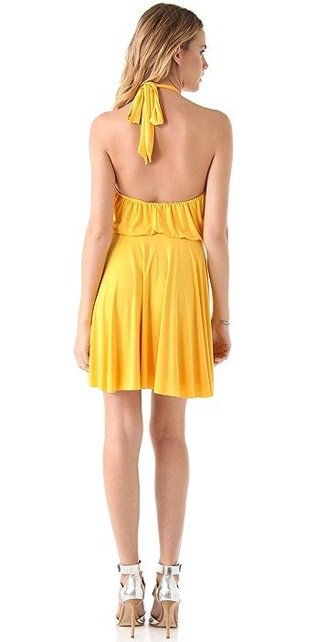MISA Halter Dress