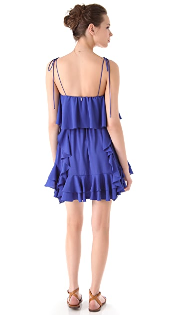 MISA Ruffle Dress