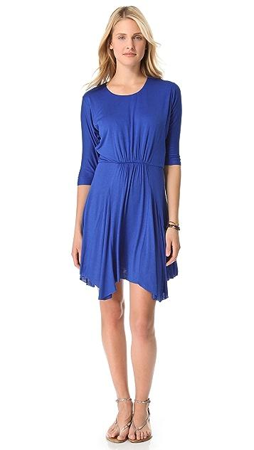 MISA 3/4 Sleeve Mini Dress