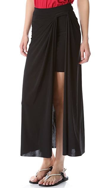 MISA Side Slit Skirt