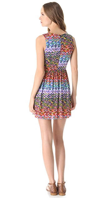 MISA Embellished Mini Dress