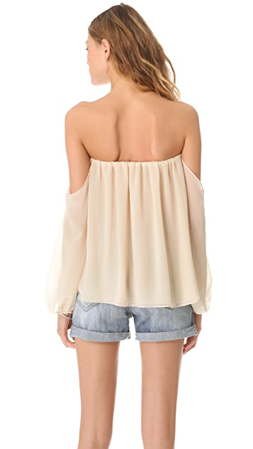 MISA Off the Shoulder Blouse