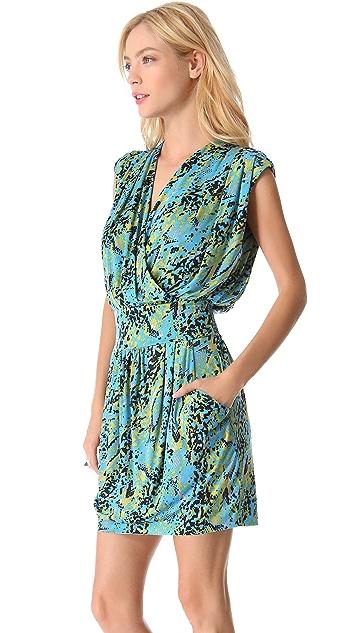 MISA Cinched Waist Dress