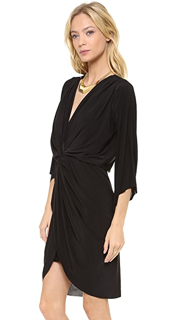 MISA Petra Twist Front Dress