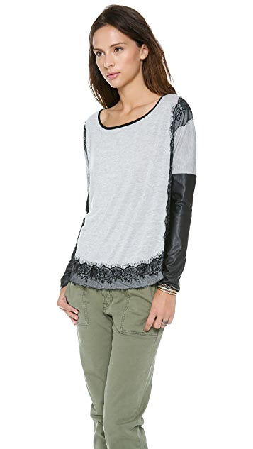 MISA Sweater with Lace