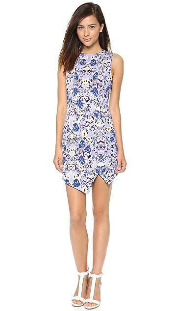 MISA Scuba Mini Dress