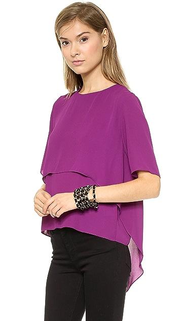 MISA Short Sleeve Blouse