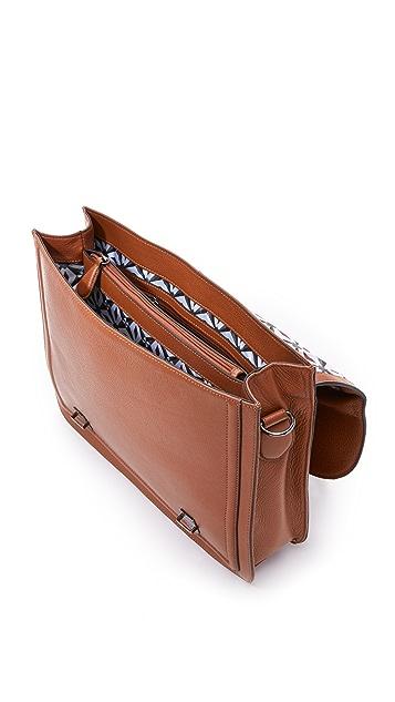 Ted Baker Jagala Leather Flap Briefcase East Dane