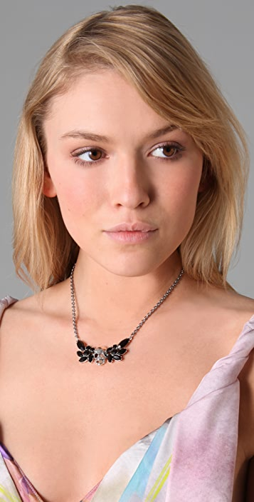TOM BINNS Della Notte Winged Skull Necklace