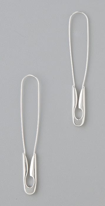 TOM BINNS Safety Binns Safety Pin Earrings