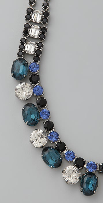 TOM BINNS Albiceleste Crystal Necklace